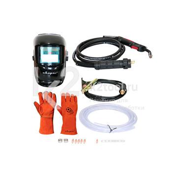 Комплект поставки сварочного инвертора Сварог REAL MIG 200 (N24002N) BLACK