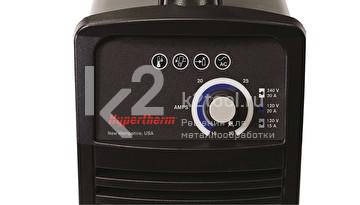 Источник плазменной резки Hypertherm Powermax30 XP, приборная панель