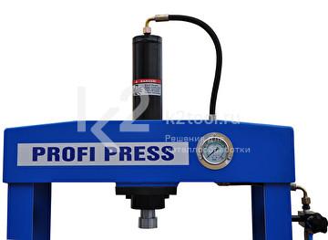 Гидравлический пресс RHTC 15 TON HF2 - вид сверху
