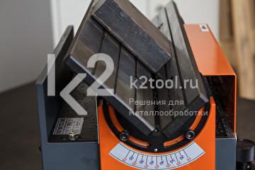 Ручной кромкорез для небольших заготовок NKO B3. Снятие фаски - вид сбоку