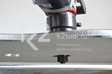 Ручной кромкорез BM-16. Обработка отверстий