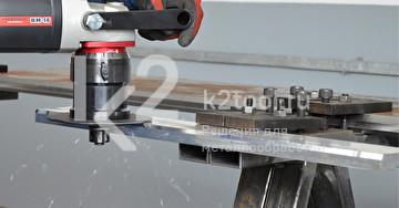 Ручной кромкорез BM-16. Обработка стального листа