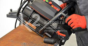 Ручной кромкорез BM-20 plus. Обработка кромки