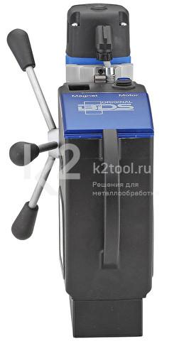 Магнитный сверлильный станок AkkuMAB 3000. Вид сзади
