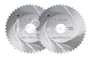 Пильные диски из быстрорежущей стали DCSENG