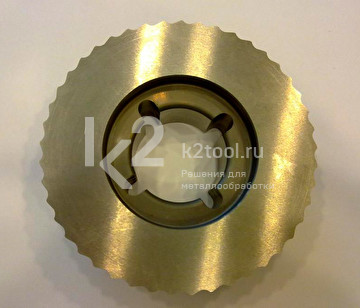 Фреза по металлу ECO для NKO UZ-15 и UZ-18. Вид сверху