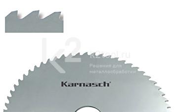 Фрезы отрезные/прорезные Karnasch из быстрорежущей стали с зубьями формы «A», арт. 5.5000