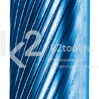 Набор мини-борфрез с покрытием Blue-Tec из 50 шт., Karnasch, арт. 11.4820