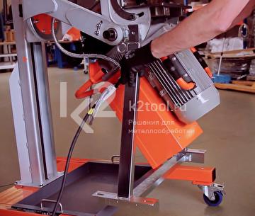 Установка съемного стола UZP-30 на UZ-50