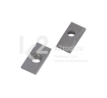 Пластины твердосплавные режущие по стали для снятия фаски под углом для Promotech BM-16