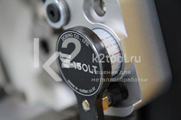 Орбитальный труборез S-150LT. Контроль глубины врезки