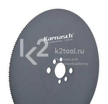 Пильные диски из быстрорежущей стали Karnasch HSS-Co5, обработанные паром, арт. 5.1300