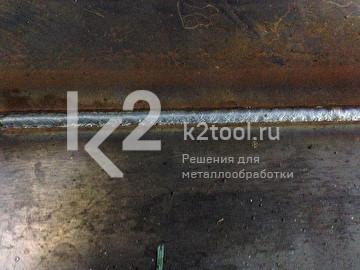 Сварной шов, выполненный сварочным трактором GECKO
