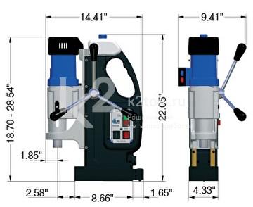 Магнитный сверлильный станок BDS MAB-845 V