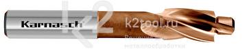 Цековки с постоянной цапфой для сквозных отверстий, 180° (под винты с цилиндрической головкой), HSS-XE, Karnasch, арт. 20.1793