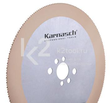 Пильные диски из быстрорежущей стали Karnasch HSS-Co5, с KX покрытием, арт. 5.1340
