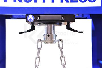 Гидравлический пресс RHTC 160 TON M/H-M/C-2 - вид сверху