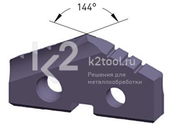Сменная пластина из порошковой стали, покрытие Alu-Tec, Karnasch, арт. 22.3010