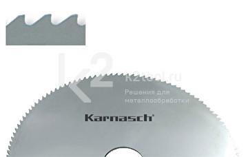 Фрезы отрезные/прорезные Karnasch из быстрорежущей стали с зубьями формы «BW» или «C», арт. 5.5002