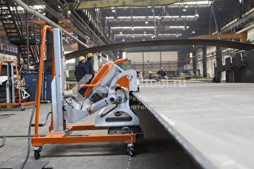3D-манипулятор с UZ-18 в рабочих условиях