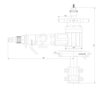 Габариты фаскоснимателя ТВР-170