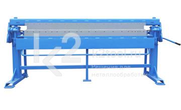 Сегментный ручной листогиб Mazanek ZGRs 2000 L