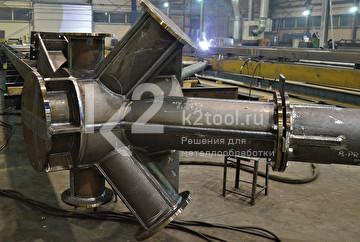 Машина для фигурной резки труб Promotech PPCM-650