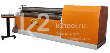 Электромеханический вальцовочный станок Stalex W11-10x2500