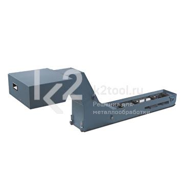 Гусеничный конвейер для сбора стружки для ленточнопильных станков PILOUS