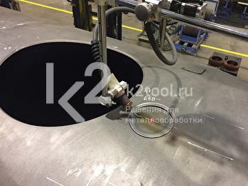 Портативные машины серии MAK для вырезки отверстий в трубах и днищах сосудов