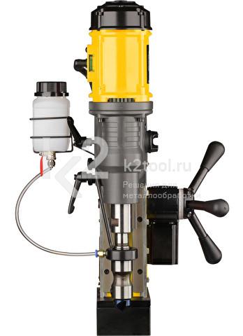 Магнитный сверлильный станок ONIX DMA-80 с автоматической подачей. Вид спереди