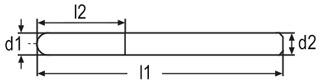 Набор мини-борфрез с покрытием Blue-Tec из 50 шт., Karnasch, арт. 11.4837