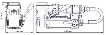 PRO-35 ADA ATEX - габариты