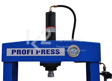Гидравлический пресс RHTC 30 TON HF2 - вид сверху