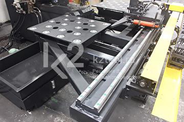 Гидравлический станок с ЧПУ для пробивки и маркировки листового проката TPP104/TPPR104