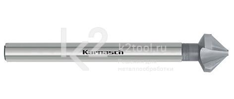Коническая зенковка из быстрорежущей стали для снятия заусенцов с длинным хвостовиком, артикул 20.1720 (HSS-XE Karnasch)