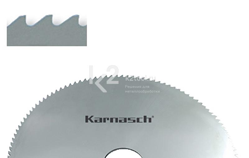 Фрезы отрезные/прорезные Karnasch из быстрорежущей стали с зубьями формы «B», арт 5.5001
