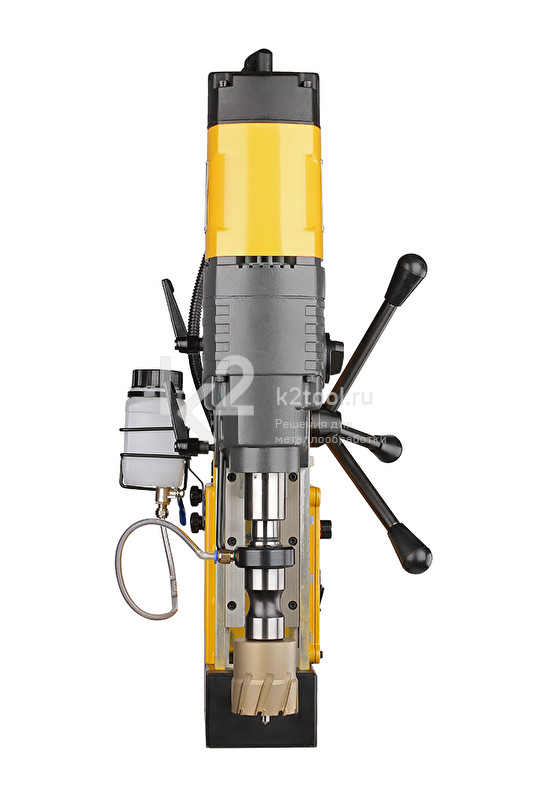 Магнитный сверлильный станок ONIX DM-65 - вид спереди