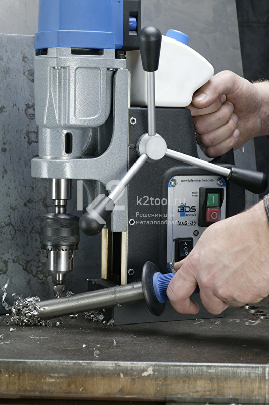 Применение магнитного стружкосборника BDS PowerWORKER