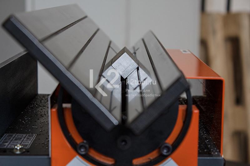 Ручной кромкорез для небольших заготовок NKO B3. Снятие фаски с заготовки