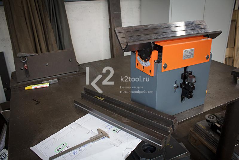 Ручной кромкорез для небольших заготовок NKO B3. Подготовка к работе