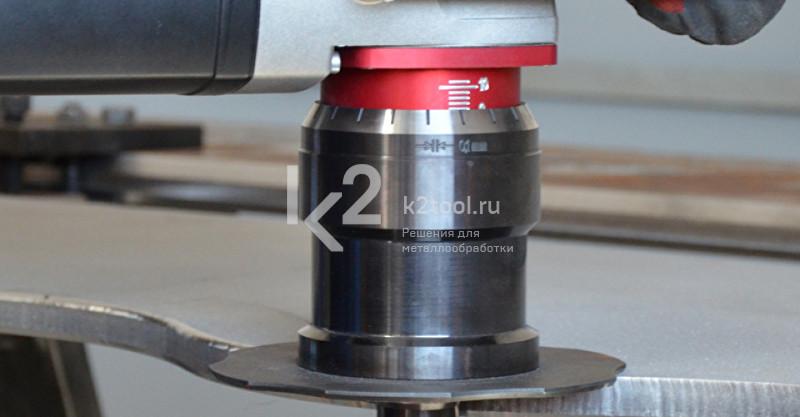 Ручной кромкорез BM-16. Обработка кромки