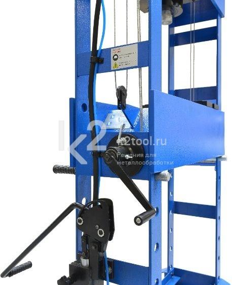Гидравлический пресс RHTC 50 TON HF2 - вид сбоку