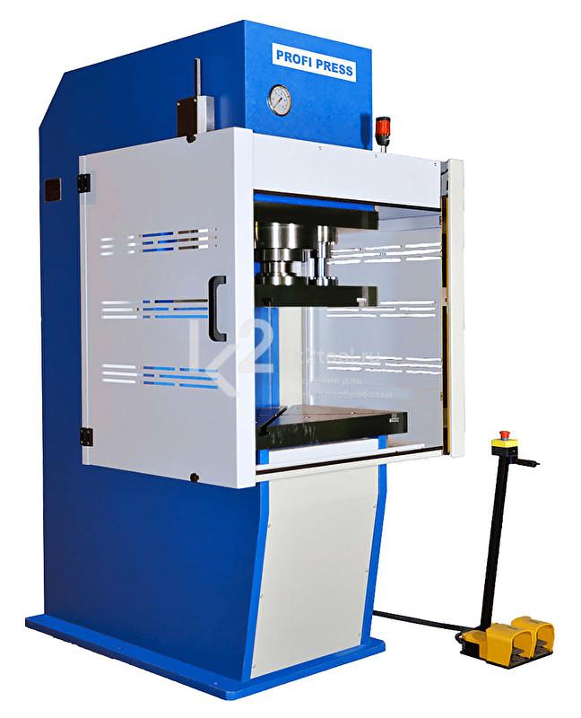 Гидравлический пресс с С-образной жесткой станиной RHTC CM-100
