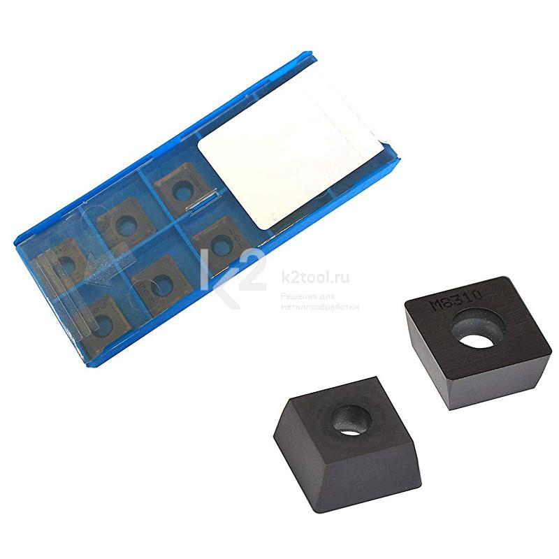 Пластины твердосплавные режущие по стали к фрезерной головке для Promotech BM-16 и BM-7