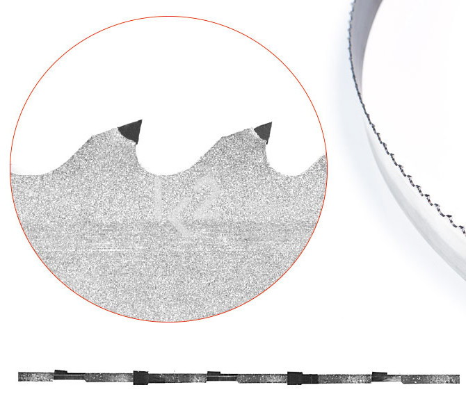 Ленточные пилы с твердосплавными напайками Honsberg Sinus TNF B, артикул 800200