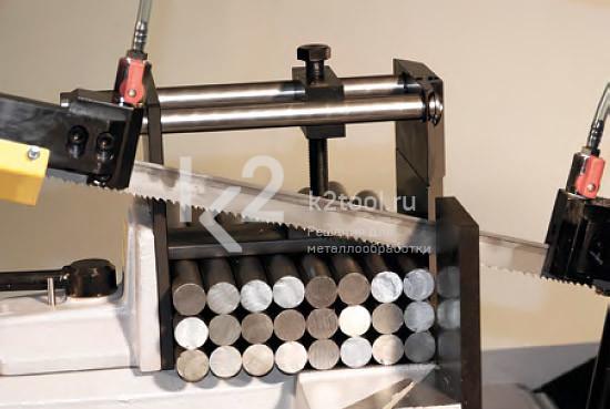 Ручное устройство пакетной резки для ленточнопильных станков Bomar
