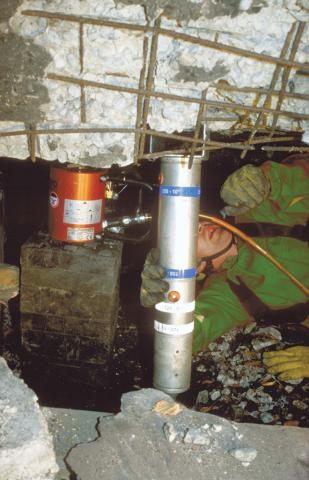 Алюминиевые домкраты с пневматическим возвратом (HLJ)