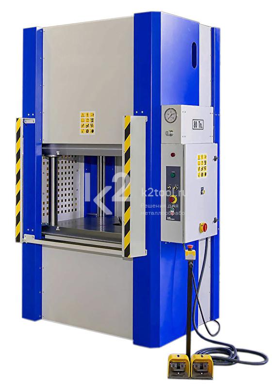 Четырехколонный гидравлический пресс RHTC MV-80