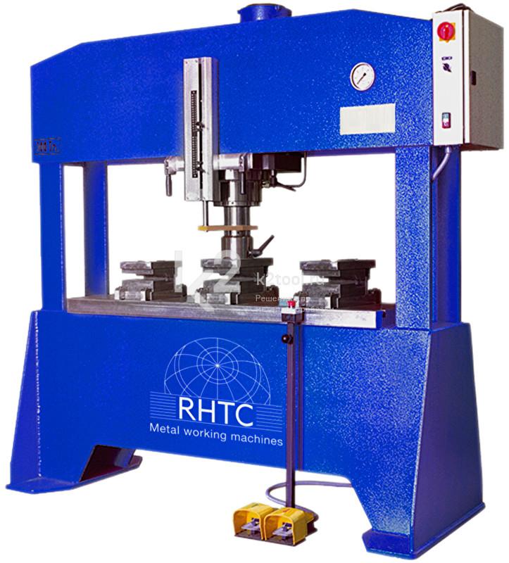 Гидравлический пресс с неподвижным столом RHTC FLM-100